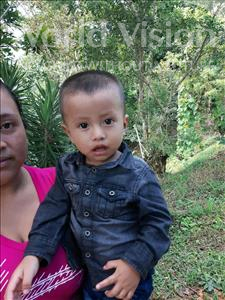 Choose a child to sponsor, like this little boy from Maya, Jeferson Emanuel age 2