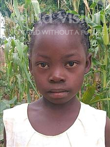 Choose a child to sponsor, like this little girl from Namaita, Sofia age 7