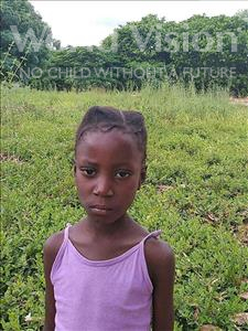 Choose a child to sponsor, like this little girl from Pheone, Torica age 7