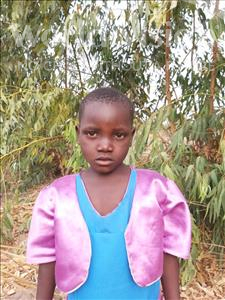Choose a child to sponsor, like this little girl from Thundu, Tikondane age 5