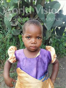 Choose a child to sponsor, like this little girl from Thundu, Pemphero age 3