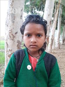Choose a child to sponsor, like this little girl from Sarlahi, Roshani age 5
