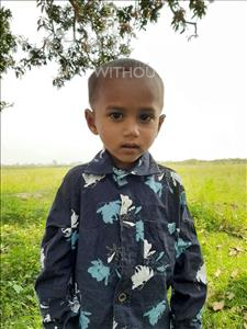Choose a child to sponsor, like this little boy from Sarlahi, Swayab age 2