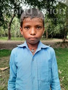 Choose a child to sponsor, like this little boy from Sarlahi, Rabi Kisan age 9