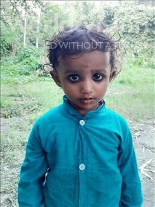 Choose a child to sponsor, like this little boy from Sarlahi, Sima age 2
