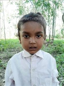 Choose a child to sponsor, like this little boy from Sarlahi, Pritam age 3