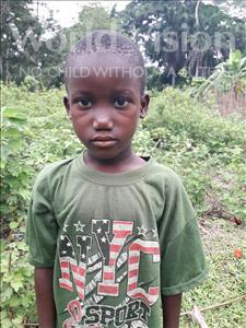 Choose a child to sponsor, like this little boy from Tegloma, Alhaji age 9