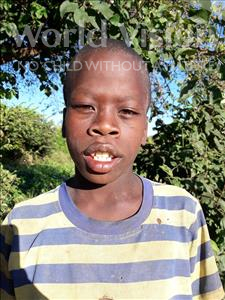 Choose a child to sponsor, like this little boy from Kilimatinde, Kulwa Masanja age 10
