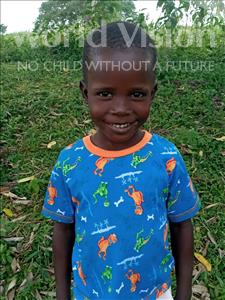 Choose a child to sponsor, like this little boy from Busitema, Grado age 5