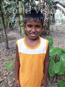 Choose a child to sponsor, like this little boy from Ghoraghat, Aoulia age 7