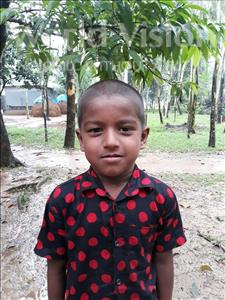 Alamin, aged 6, from Bangladesh, is hoping for a World Vision sponsor