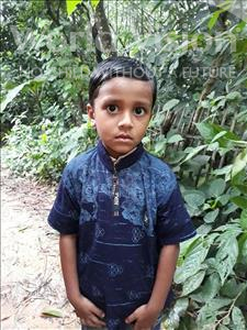 Rafat Fazle, aged 6, from Bangladesh, is hoping for a World Vision sponsor