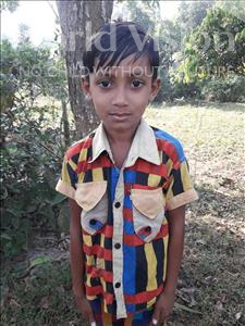 Choose a child to sponsor, like this little boy from Ghoraghat, Sojib Joy age 6