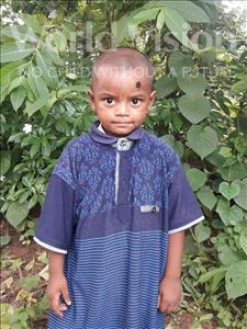 Choose a child to sponsor, like this little boy from Ghoraghat, Shipon age 3