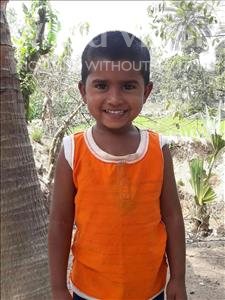 Choose a child to sponsor, like this little boy from Ghoraghat, Nasim Babu age 5