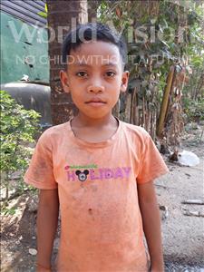 Choose a child to sponsor, like this little boy from Soutr Nikom, Raksa age 8