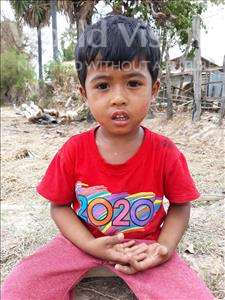 Phanet, aged 4, from Cambodia, is hoping for a World Vision sponsor