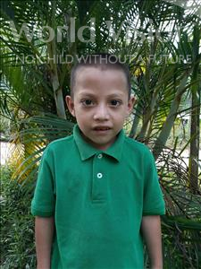 Choose a child to sponsor, like this little boy from Maya, Junior Josue age 8