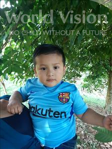 Choose a child to sponsor, like this little boy from Maya, Andres Leonel age 3