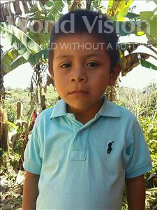 Choose a child to sponsor, like this little boy from Maya, Norlan Jehu age 6