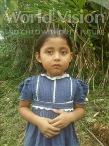 Choose a child to sponsor, like this little girl from Maya, Dalila Aracely age 6