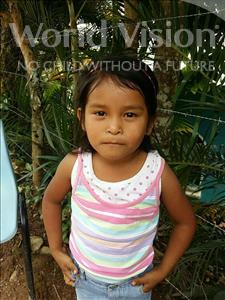 Choose a child to sponsor, like this little girl from Maya, Karen Guadalupe age 6