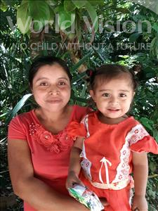 Choose a child to sponsor, like this little girl from Maya, Magdalena Sarai age 2