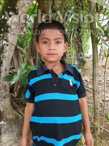 Juan Orlando, aged 8, from Honduras, is hoping for a World Vision sponsor