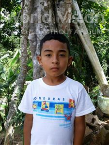 Joset Omar, aged 8, from Honduras, is hoping for a World Vision sponsor