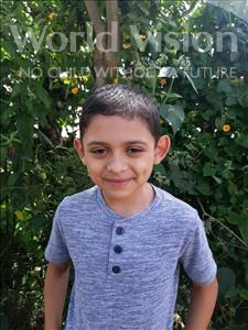 Choose a child to sponsor, like this little boy from Maya, Angel David age 9