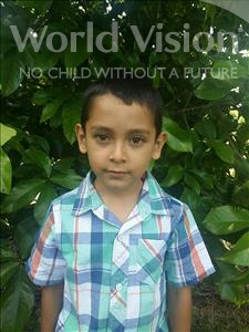 Choose a child to sponsor, like this little boy from Maya, Bairon Samuel age 6