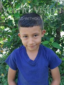 Josafat Abimelec, aged 7, from Honduras, is hoping for a World Vision sponsor