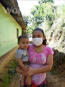 Bryan Calef, aged 1, from Honduras, is hoping for a World Vision sponsor