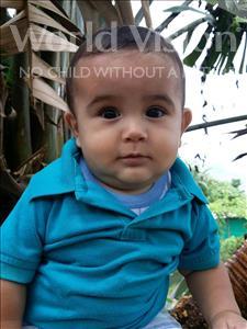 Choose a child to sponsor, like this little boy from Maya, Carlos Daniel age 1