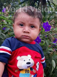 Choose a child to sponsor, like this little boy from Maya, Yefri Jacobo age 1