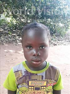 Choose a child to sponsor, like this little girl from Kazuzo, Janete Antonio age 6