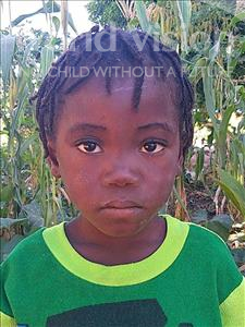 Choose a child to sponsor, like this little girl from Namaita, Fausia Daurito age 6