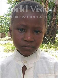 Choose a child to sponsor, like this little boy from Pheone, Latifo Quiston age 7