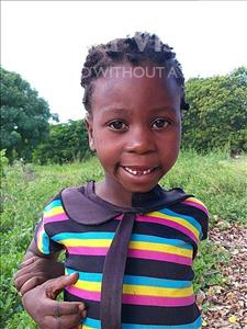 Choose a child to sponsor, like this little girl from Pheone, Lurdes age 7