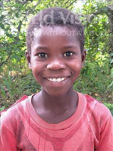 Choose a child to sponsor, like this little girl from Pheone, Domingas age 6