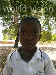 Choose a child to sponsor, like this little boy from Pheone, Eufrasia Artur age 6