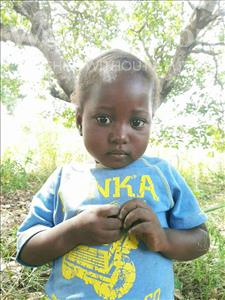 Atija Joaquim, aged 5, from Mozambique, is hoping for a World Vision sponsor