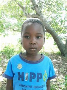 Choose a child to sponsor, like this little girl from Pheone, Neusa age 7