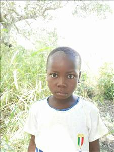 Choose a child to sponsor, like this little boy from Pheone, Gelitotito age 7