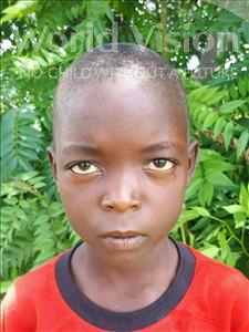Blessings, aged 8, from Malawi, is hoping for a World Vision sponsor