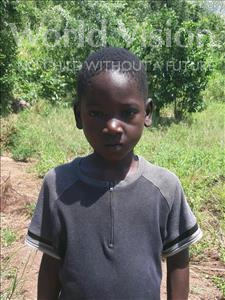 Choose a child to sponsor, like this little boy from Thundu, Gift age 8