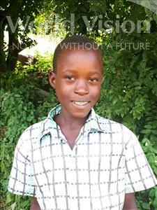 Choose a child to sponsor, like this little boy from Thundu, Shadreck age 8