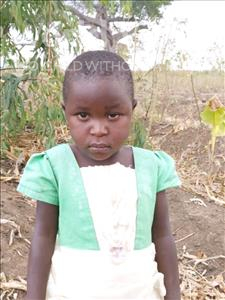 Malliam, aged 3, from Malawi, is hoping for a World Vision sponsor