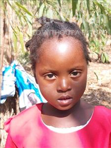 Charity, aged 3, from Malawi, is hoping for a World Vision sponsor
