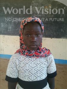 Choose a child to sponsor, like this little girl from Komabangou, Sakina age 11